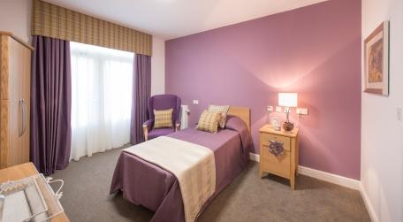 Prestwood Purple Room